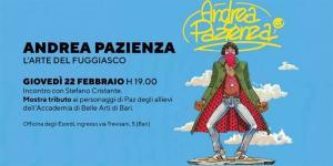 Stefano Cristante presenta Andrea Pazienza e l'arte del fuggiasco