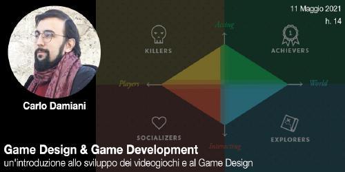 Game Design & Game Development con Carlo Damiani