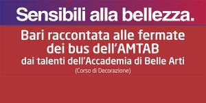 Bari raccontata alle fermate dei bus ATMAB